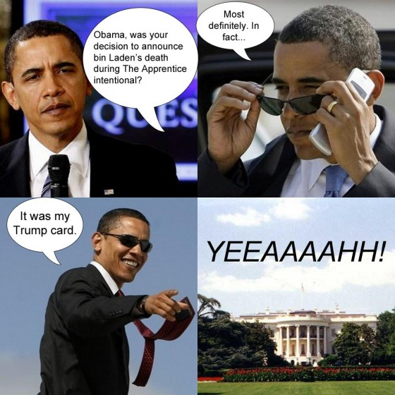 Obama's trump card